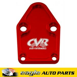 Chev 350 Small Block CVR Fuel Pump Block-Off Plate # CVR BOP63R