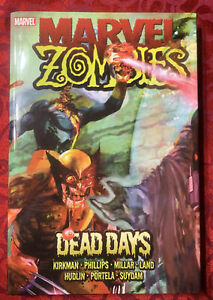 MARVEL ZOMBIES DEAD DAYS HC Signed And Sketch By Suydam