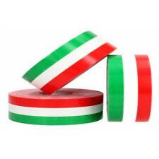 Nastro adesivo decorazione bandiera Italiana tricolore in diverse misure