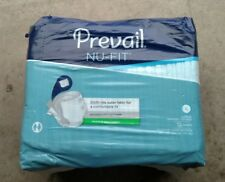 Prevail Nu-Fit Adult Brief Diaper Large Size Maximum Absorbency NU-013/1