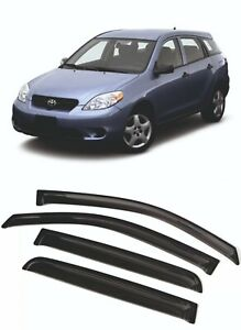 For TOYOTA MATRIX 2001-2008 Window Visors Sun Rain Guard Vent Deflectors Shades