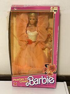 Vintage Peaches n Cream Barbie Doll 1984