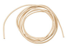 LEATHER CORD ROUND NATURAL 1.5MM LIGHT TAN 3 YARDS NECKLACE DIY CRAFTS H0618