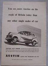 1948 Austin A40 Original advert No.3