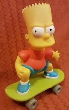 Bart Simpson Skateboard 1994 Grosvenor Figure Bottle Vintage Collectable...