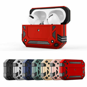 For Apple Airpods 1/2/3 Pro Heavy Duty Rugged Armour Case Shockproof Skin Cover