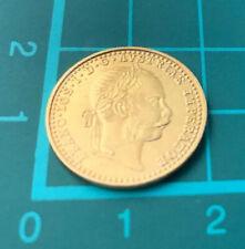 1915 Austria Gold  1 Ducat Coin