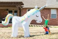 Giant Inflatable Unicorn Garden Water Sprinkler 6 Ft Tall, Magical Kids Unicorn