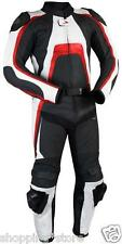 SYDNEY BIKER MOTORCYCLE RACING LEATHER SUIT MOTORBIKE SUIT JACKET TROUSER XS-4XL