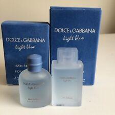 Dolce & Gabbana Light Blue & Pour Homme 0.15 Oz / 4.5 Ml EDT Miniature