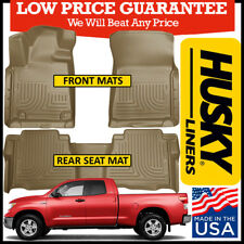 Husky Liners Fits 2007-13 Toyota Tundra CrewMax//Double Cab Weatherbeater 2nd Seat Floor Mat
