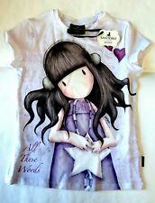 MAGLIETTA t-shirt SANTORO GORJUSS moda RAGAZZA bimba bambina LILLA stella VIOLA