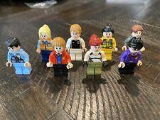 Lot Of 8 Lego Type Figures