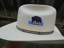 RARE GRIZZLY SNUFF HAT PATCH NEW/UNUSED