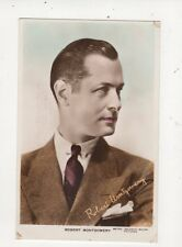 Robert Montgomery Vintage RP Postcard Actor 571a