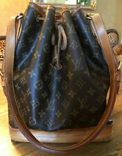 Original Louis Vuitton großer Sac Noe Monogram Canvas mit Originalrechnung