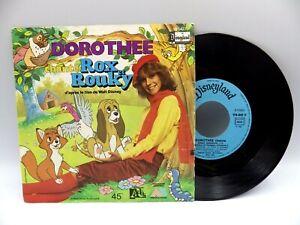 45 tours Disque Vinyles  45 T DOROTHÉE ROX et ROUKY  AB production
