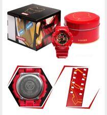 CASIO G SHOCK GA-110 GB Limited Edition Iron Man Marvel Watch Avengers