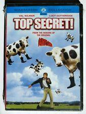Top Secret!  DVD widescreen Brand New (Val Kilmer)