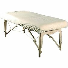 Master Massage Universal Size Cotton Natural Fitted Flannel Table Cover sheet