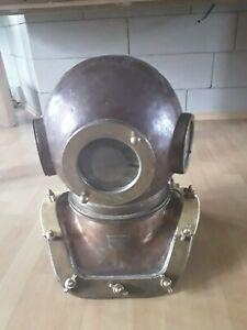 Rare Original Soviet russian 12-bolt Diving Helmet  made in USSR/ 1971