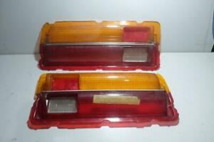 TOYOTA Corona RT100 LH/RH Tail Light Lens Taillight Pair NOS Genuine