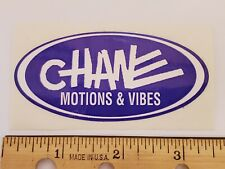 OLD SCHOOL BMX CHANE MOTION & VIBES STICKER DECAL 1990s NOS RARE