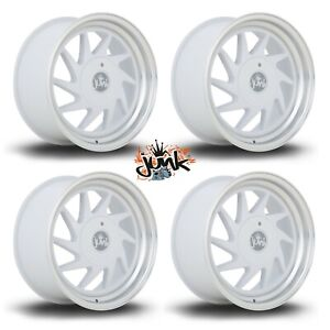 """4 x Junk Dreg 16"""" 8J alloys fits MX5 VW GOLF POLO LUPO CIVIC FIESTA 4x100 4x108"""