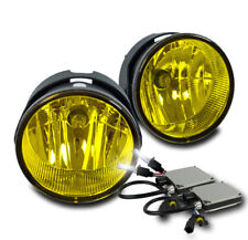 2007-2015 FORD EXPEDITION/2008-2011 RANGER BUMPER YELLOW FOG LIGHTS W/6K HID NEW
