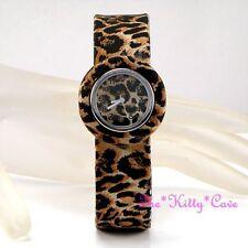 Women's Matte Silicone/Rubber Case Round Wristwatches