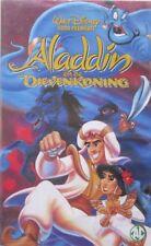 ALADDIN EN DE DIEVENKONING - WALT DISNEY  - VHS