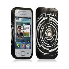 Housse coque étui en gel pour Samsung Wave 575 S5750 avec motif LM13