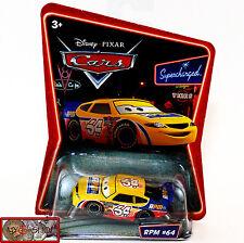 Nib Disney Pixar Cars, Supercharged Series, Rpm #64, High Grade, Awesome Details