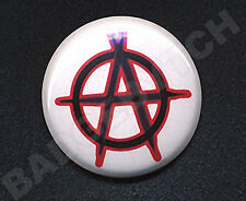 ANARCHY Badge Button Pin  - PUNK CLASSIC!