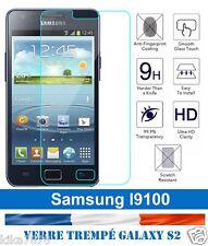 vitre protection verre trempé film protecteur d'écran Samsung Galaxy S2