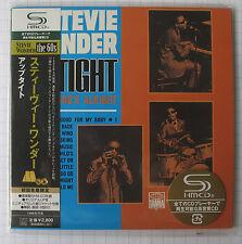 Stevie WONDER-up tight GIAPPONE SHM MINI LP CD OBI NUOVO UICY - 93868