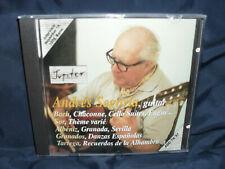 Andres Segovia - Plays Bach / Sor / Albeniz / Granados / Tarrega
