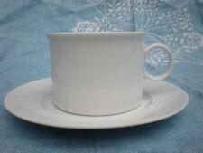 Friesland Jeverland  weiß Tasse Kaffetasse Teetasse mit Untertasse Porzellan