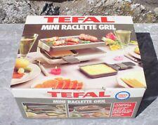 Mini raclette gril TEFAL pour deux duo vintage dans sa boîte