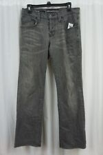 Rock And Republic Mens Jeans Sz 31 Grey Black Studded Distressed Jeans