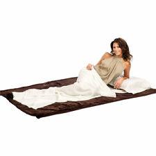 Schlafsack: Seidenschlafsack aus 100 % Habotai-Seide (Hüttenschlafsack)