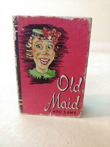 Whitman Mini Old Maid Card Game VTG. 1950's  Peter Pan
