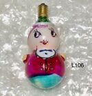 Vtg 1920's Milk Glass Christmas Tree Bulb RARE Toy Japan Untested