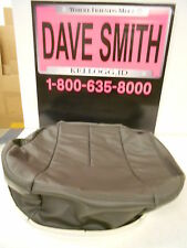 Factory OEM Front Seat Cushion Bottom Leather Cover Left Drivers Side 19127431