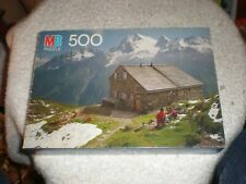 MB Milton Bradley COVENTRY Alpine Hut 500 Piece Puzzle - NIB Sealed