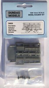 Dundas Models DM55 Festiniog Railway Granite Wagon End Door 009Gauge Plastic Kit