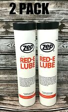 2 Pack Zep Red-E Lube Non-Melt Grease 14oz New K6130315B Fast Free Shipping!