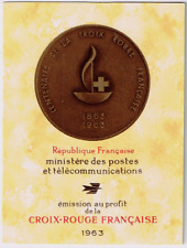 TIMBRES FRANCE Année 1963 Carnet Croix-Rouge n°2012 NEUF**