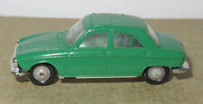 B old made in france 1966 micro norev oh 1/87 peugeot 204 dark green #532