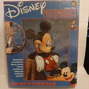 Disney Mickey Mouse Photo Mosaic Puzzle 1000 Piece Factory Sealed By BGI Puzzles